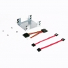 "2.5"" SATA dual hard drive mounting kit for the net6501"